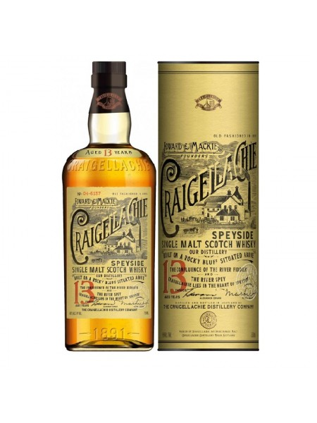 CRAIGELLACHIE SINGLE MALT 13 YRS
