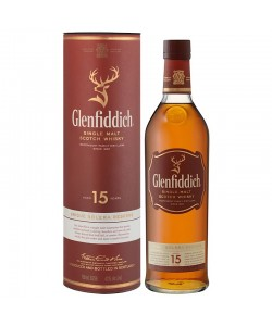 GLENFIDDICH 15YRS SINGLE MALT SCOTCH WHISKY