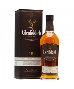 GLENFIDDICH 18YRS SINGLE MALT SCOTCH WHISKY
