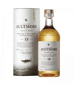AULTMORE 12YRS SPEYSIDE SINGLE MALT WHISKY