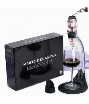 MAGIC DECANTER- DELUXE WINE AERATOR SET