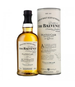 THE BALVENIE 'PEATED CASK' 17 YRS SINGLE MALT SCOTCH WHISKY