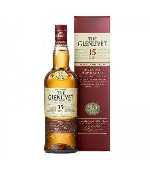 THE GLENLIVET 15 YRS OLD FRENCH OAK RESERVE