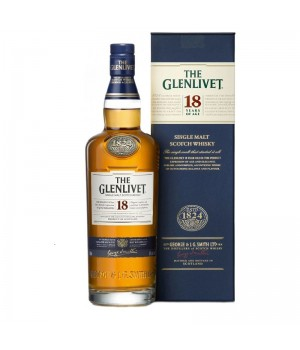 THE GLENLIVET 18 YRS OLD SINGLE MALT