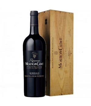 BARON PHILIPPE DE ROTHSCHILD MOUTON CADET BORDEAUX 6 LITERS