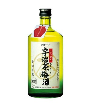 CHOYA UJI GREEN TEA UMESHU (720ML)