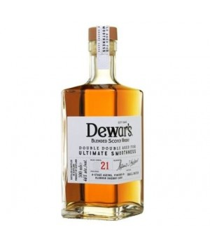 DEWAR'S DOUBLE DOUBLE 21 YRS