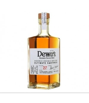 DEWAR'S DOUBLE DOUBLE 27 YRS