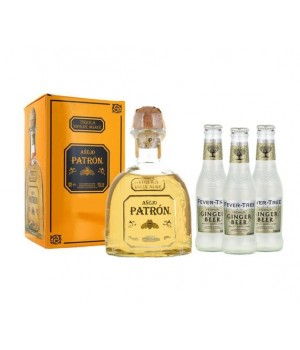 PATRON ANEJO ( GET 3 FREE FEVER TREE GINGER BEER 200 ML ) (ONLINE EXCLUSIVE)