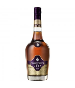 COURVOISIER VSOP COGNAC GIFT PACK WITH 1 GLASS