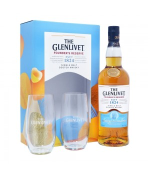 THE GLENLIVET FOUNDERS RESERVE GIFT PACK