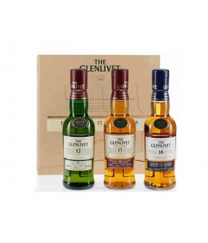 THE GLENLIVET TRIO PACK (20CL X 3)