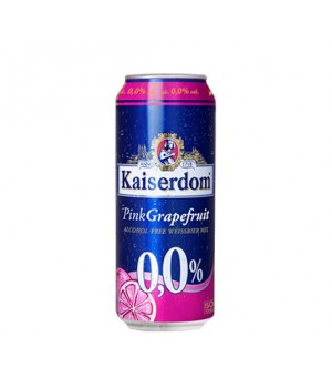 KAISERDOM PINKGRAPEFRUIT BEER ALCOHOL FREE 500ML