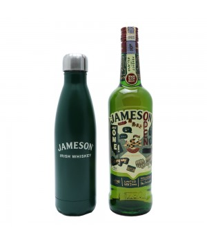 JAMESON IRISH WHISKY LIMITED EDITION WITH JAMESON WATER BOTTLE (ONLINE EXCLUSIVE)