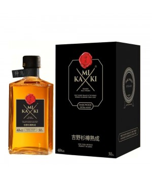 KAMIKI BLENDED MALT JAPANESE WHISKY 50CL