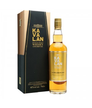 KAVALAN SINGLE MALT EX BOURBON OAK