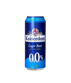KAISERDOM LAGER BEER ALCOHOL FREE 500ML