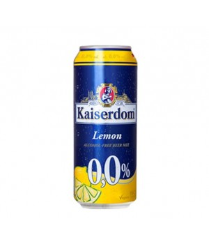 KAISERDOM LEMON BEER ALCOHOL FREE 500ML