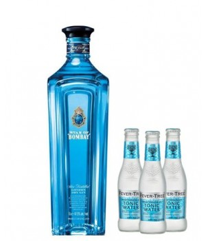 STAR OF BOMBAY LONDON DRY GIN  ( GET 3 FREE FEVER TREE TONIC WATER 200 ML ) (ONLINE EXCLUSIVE)
