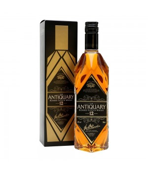 THE ANTIQUARY 12 YRS BLENDED SCOTCH WHISKY