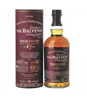 THE BALVENIE DOUBLEWOOD 17YRS SINGLE MALT SCOTCH WHISKY