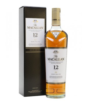 MACALLAN 12YRS SHERRY OAK SINGLE MALT