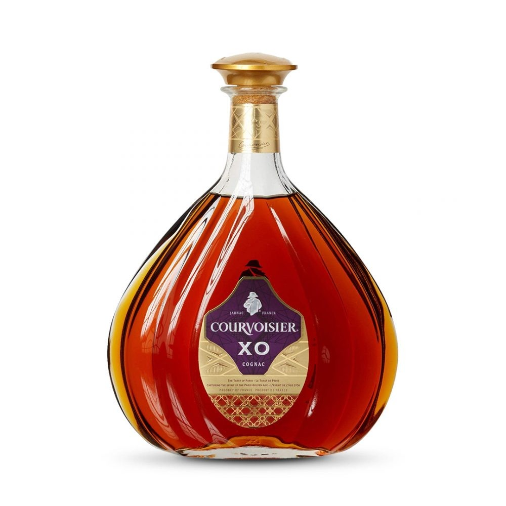 COURVOISIER XO COGNAC GIFT PACK WITH 2 GLASSES