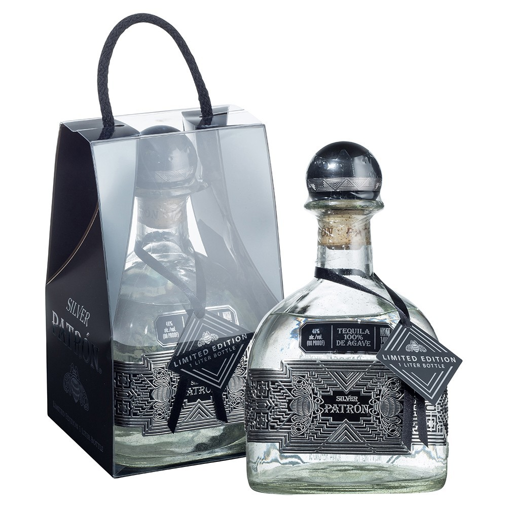PATRON SILVER (LIMITED EDITION 1 LITRE)